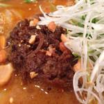 33067952 - 担々麺 肉拡大@2014/11/30