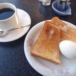 喫茶ラペ - 料理写真:モーニング(600円)
