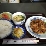 33070118 - ( ̄Д ̄)ノ焼肉定食!