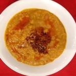 ◆チキンとひよこ豆カレー Chicken and beans curry