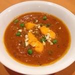 ◆チーズとグリーンピースカレー Cheese and green peas curry