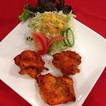 ◆チキンティッカ(3P・サラダ付) Chicken tikka