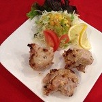 ◆ガーリックティッカ(3P・サラダ付) Garlic tikka
