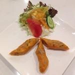 ◆シークカバブ(3P・サラダ付) Seek kababu