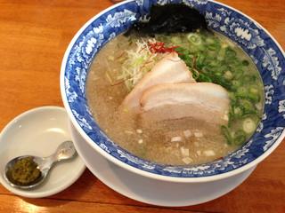 麺屋ひろ - 「ゆず塩らーめん」(2014.10)