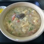 安安 - 蟹飯麺 ※カニみそトッピング (拡大)