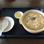 安安 - 蟹飯麺 ※カニみそトッピング