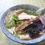 味の大西 - 2014年10月 ワンタンメン 1150円
