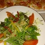 料理やFuji - サラダ&白身魚とサーモンのカルパッチョ