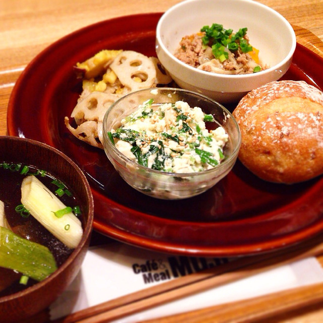 Cafe MUJI アトレヴィ巣鴨店 - ランチプレート 1000円