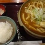 三国一 - カキカレーうどん(¥950)