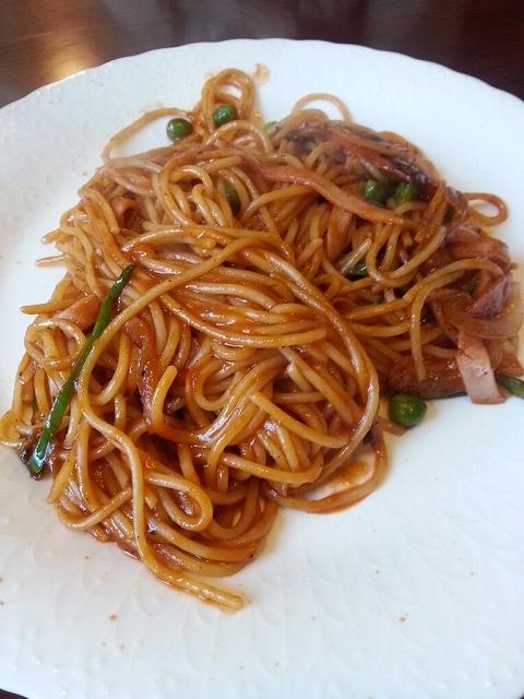 レストラン チロル - スパゲッティ・ナポリ風