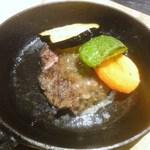 和牛が旨い個室焼肉 楽月 - タンステーキ