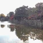 33076038 - お店から歩いて3分、和歌山城のお堀にやってきました