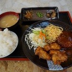 やくも - デラックス定食¥790