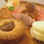 やさいパンのみせ まちのカフェVIVO - ケーキバイキング