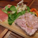 パシオン エ ナチュール - 御肉の前菜盛り合わせ