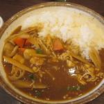 CoCo壱番屋 - 蒸し鶏と根菜の和風カレー