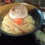 麺工房 茜 - かま玉ラーメン