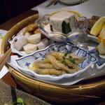 Suginoko - 前菜の盛り合わせ