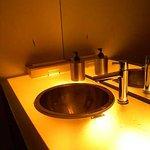 Suginoko - 10数年前のお店としてはおしゃれな洗面台