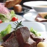 メソン - 料理写真:ランチメニュー お肉のコース(一例)