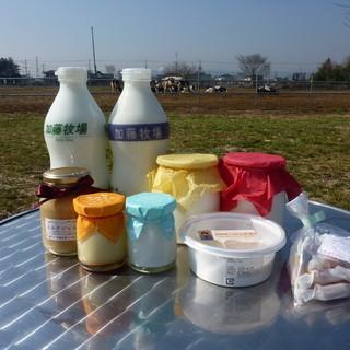 加藤牧場 Baffi - 料理写真:店舗商品の一部です。