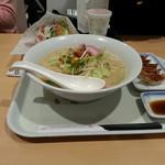 33080466 - 長崎ちゃんぽん×2倍麺+餃子5個