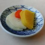 千楽 本店 - 香の物