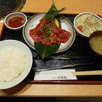 大使館 - 焼肉ランチセットCセット 1540円