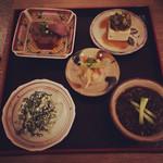 沖縄料理 新風 - お疲れさんセット お好きなドリンク付きで1500円