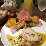 BONCOURAGE - お魚メインのランチ+スムージー