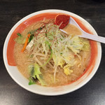 めん蔵 - 新野菜味噌ラーメン(普通)