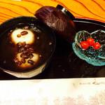 さつま芋Cafe - おしるこ