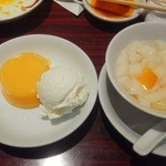 蘭苑飯店 - マンゴープリンとアイスと杏仁豆腐