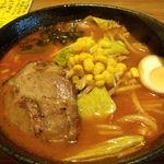 らーめん武蔵 - 辛味噌ラーメン