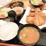 魚処おおたけ - カレイ定食