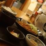 おふくろの味 3・5食堂 - ジャンボメンチカツ定食