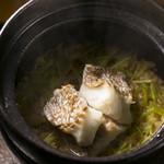 食酒 あきしろ by Mizuno - 明石の天然鯛の炊き込み釜飯