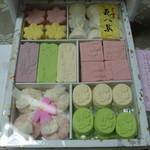 京風和菓子 松葉屋 - 料理写真:干菓子詰め合わせ
