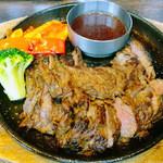 ワバル - 牛ハラミの柔らか鉄板ステーキ 200g