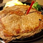 ステーキのどん - 料理写真:熟成リブロインステーキ300g(レア)