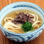 四國うどん - 料理写真:毎日丁寧に煮込んだ肉うどん
