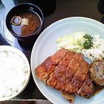 西洋食房 芝 - 銀カツランチ(890円)