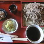 八郷の里 - ざる蕎麦(大盛り)