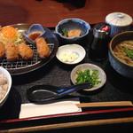 金亀庵 - カキフライ定食