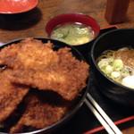 かどや食堂 - 料理写真:ソースカツ丼セット
