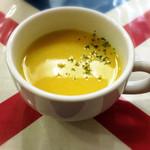 のらくろ - カボチャのスープ