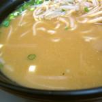 北海ラーメン - ドライブイン系な味噌スープ。