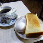 桃山 - 料理写真:2014.12 スタンダードなモーニングサービス。